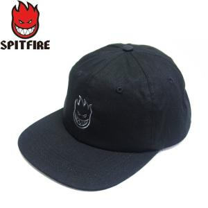 SPITFIRE LIL BIGHEAD CLIPBACK CAP BLACK GREY SWIRL スピットファイヤー ビッグヘッド クリップバック キャップ 帽子 ブラック グレー 19s|stormy-japan