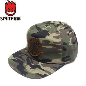 SPITFIRE OG SWIRL PATCH SNAPBACK CAP CAMO スピットファイヤー パッチ スナップバック キャップ 帽子 カモ 迷彩 19s|stormy-japan