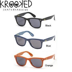 KROOKED SHMOO SUNGLASSES(BLACK)(BLUE)(ORANGE)(クルキッド サングラス アイウェア ブラック ブルー オレンジ)|stormy-japan