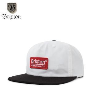 BRIXTON PALMER MP SNAPBACK CAP WHITEBLACK ブリクストン スナップバック キャップ 帽子 ホワイトブラック 18m|stormy-japan