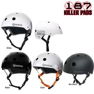 大人用 187 Killer Pads SKATEBOARD HELMET スケートボード プロテクター ヘルメット 防具|stormy-japan