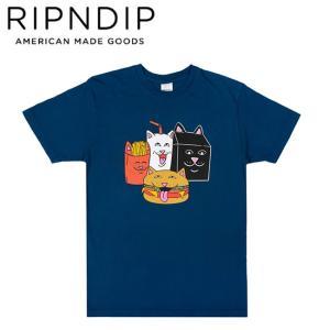 RIPNDIP MCNERM SS TEE HARBORBLUE リップンディップ 半袖 Tシャツ ハーバー ブルー 19f stormy-japan