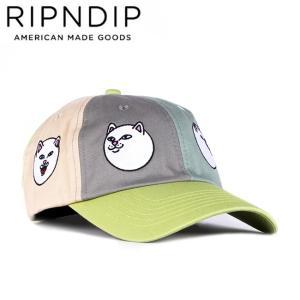 RIPNDIP EXPRESSIONS STRAPBACK CAP MULTI リップンディップ キャップ 帽子 ストラップバック サージブルー 20s stormy-japan