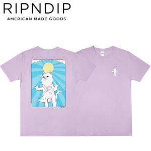 RIPNDIP HALO SS TEE PURPLE リップンディップ 半袖Tシャツ パープル 20s stormy-japan