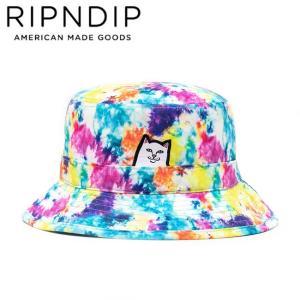 RIPNDIP LORD NERMAL BUCKET HAT TIEDYE リップンディップ ハット 帽子 バケット タイダイ 20s stormy-japan