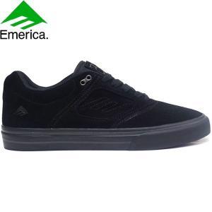 EMERICA ANDREW REYNOLDS 3 G6 VULC SKATEBOARD SHOES BLACK BLACK エメリカ スケートボード スケボー シューズ スニーカー アンドリュー・レイノルズ 18f|stormy-japan