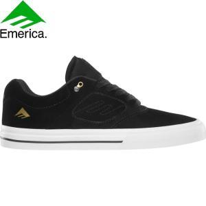 EMERICA ANDREW REYNOLDS 3 G6 VULC SKATEBOARD SHOES BLACK WHITE GOLD エメリカ スケートボード スケボー シューズ スニーカー レイノルズ 18s|stormy-japan