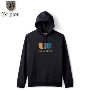 ブリグストン BRIXTON パーカー ALTON II HOOD SWEAT BLACK プルオーバー フード スウェット ブラック stormy-japan