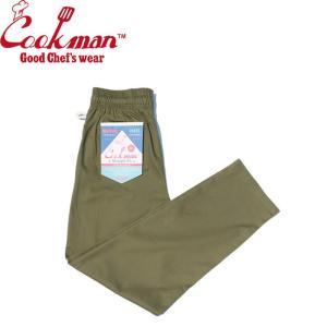 COOKMAN WAITER'S PANTS KHAKI クックマン ウェイターズパンツ イージーパンツ カーキ 19m|stormy-japan