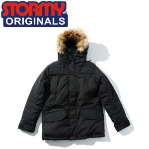 SALE50%OFF ストーミー STORMY ジャケット MOUNTAIN DOWN JACKET BLACK オリジナル アウター マウンテン ダウン ブラック|stormy-japan