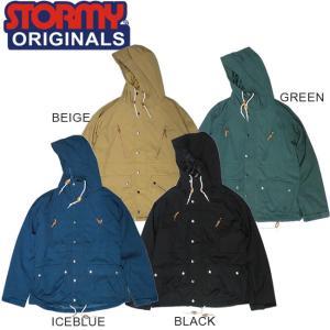 SALE50%OFF STORMY OG MOUNTAIN PARKA JACKET BEIGE BLACK GREEN ICEBLUE ストーミーオリジナル ジャケット マウンテンパーカ|stormy-japan