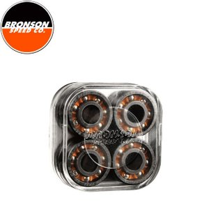 BRONSON SPEED CO. RAW Next Generation Shieldless Skateboard Bearings(8Pack)(ブロンソン スケートボード ベアリング 1セット/8個入り)17s|stormy-japan