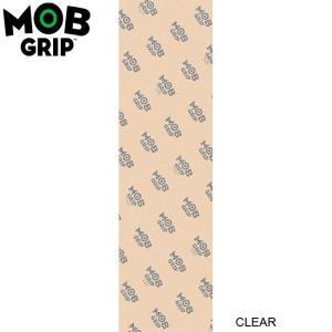 MOB GRIP SKATEBOARD GRIP TAPE(CLEAR)(9x33inch)(モブグリップ スケートボード グリップテープ デッキテープ)16f|stormy-japan