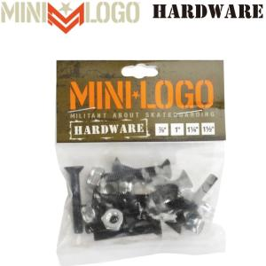 MINI-LOGO Hardware Bolt Single pks(ミニロゴ プラス ボルト ビス)|stormy-japan
