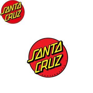 SANTACRUZ Classic Dot Sticker 3inx3in サンタクルズ クラシック ドット ステッカー 18f|stormy-japan