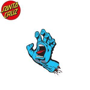 SANTACRUZ Screaming Hand Sticker(3inx2.5in)(BLUE)(サンタクルズ スクリーミングハンド ステッカー ブルー)17s|stormy-japan