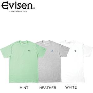 Evisen BONSAI SS TEE HEATHER WHITE MINT エヴィセン エビセン 半袖 Tシャツ ヘザー ホワイト ミント 19s|stormy-japan