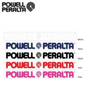 POWELL PERALTA Logo Sticker Black Navy Pink Red White パウエルペラルタ ステッカー 18s|stormy-japan