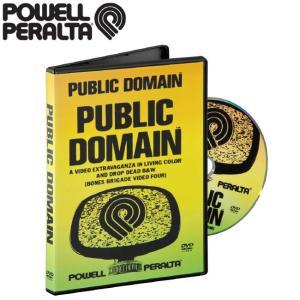 POWELL PERALTA Public Domain Skateboard DVD(1988)(パウエルペラルタ パブリックドメイン スケートボード 映像)|stormy-japan