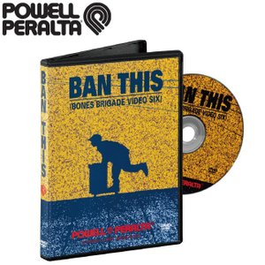 POWELL PERALTA Ban This Skateboard DVD(1989)(パウエルペラルタ バンディス スケートボード 映像)|stormy-japan