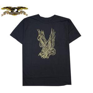 ANTI HERO WRIGHT EAGLE TEE BLACKGOLD アンチヒーロー 半袖 Tシャツ ブラックゴールド|stormy-japan