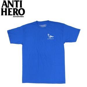 ANTIHERO BASIC PIGEON SS TEE ROYALWHITE アンチヒーロー 半袖 Tシャツ ロイヤルホワイト 19m|stormy-japan
