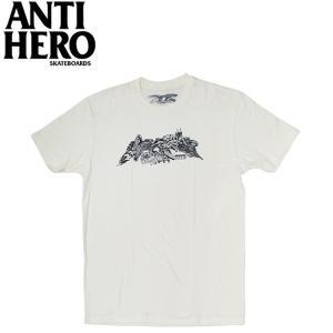 ANTIHERO HERNDON SS TEE NATURALBLACK アンチヒーロー 半袖 Tシャツ ナチュラルブラック 19m|stormy-japan
