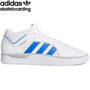 adidas skateboarding TYSHAWN SKATEBOARD SHOES(CLOUDWHITE/BLUE) アディダス スケートボード スニーカー スケボー シューズ タイショーン・ジョーンズ 20su|stormy-japan