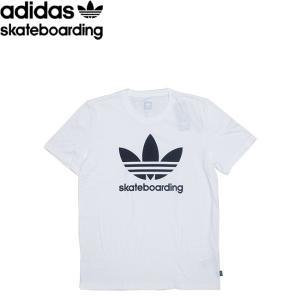 adidas skateboarding CLIMA 3.0 SS TEE WHITE アディダス スケートボード 半袖 Tシャツ ホワイト 18s|stormy-japan