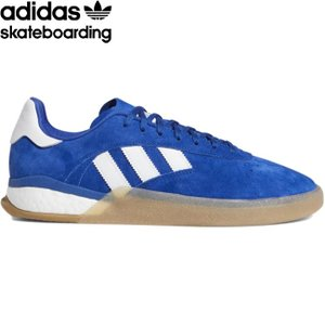 adidas skateboarding 3ST.004 SKATEBOARD SHOES COLLEGIATE ROYAL CLOUD WHITE ANTIQUE SILVER アディダス スケートボード スケボー シューズ 19s|stormy-japan