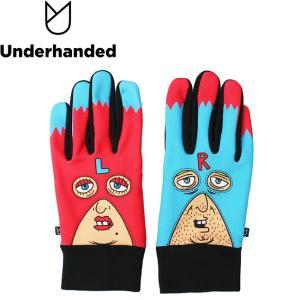 Underhanded x Japanese Artist HERO TM Paint GLOVE アンダーハンデッド グローブ 手袋 スマホ対応 18h|stormy-japan