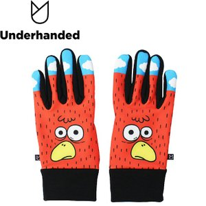 Underhanded x Japanese Artist DELIVERY TM Paint GLOVE アンダーハンデッド グローブ 手袋 スマホ対応 18h|stormy-japan