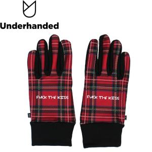 Underhanded FUCK THE KIDS GLOVE アンダーハンデッド グローブ 手袋 スマホ対応 18h|stormy-japan