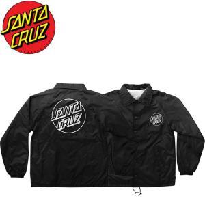 SANTA CRUZ Opus Dot Coach Windbreaker Jacket Black サンタクルーズ コーチジャケット ウィンドブレーカー ブラック 19s|stormy-japan