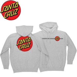 SANTA CRUZ Classic Dot Pullover HoodSweat GrayHeather サンタクルーズ プルオーバーフードスエット パーカー グレーヘザー 19s stormy-japan
