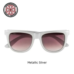 INDEPENDENT BASE SUNGLASSES(Metallic Silver)(インディペンデント インディ サングラス INDY)16s|stormy-japan