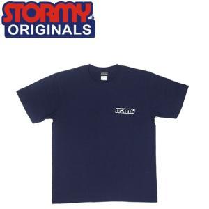 ストーミー STORMY 半袖 tシャツ MINI LOGO SS T-SHIRTS NAVY オリジナル ネイビー 20f|stormy-japan