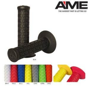 AME TRI GRIPS(AME081-0101)NEWCOLOR/PURPLE(エーエムイー グリップ 限定色)(BMX)(ストライダーカスタム用)|stormy-japan