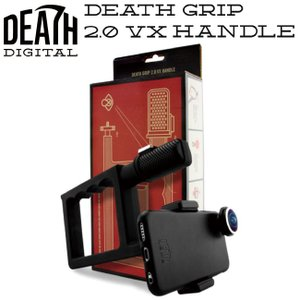 DEATH DIGITAL DEATH GRIP VX1000 SHAPED HANDLE(デスデジタル デスグリップ ハンドル GO PROマウント付属)DEATH LENS デスレンズ18s|stormy-japan