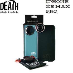 DEATH DIGITAL IPHONE XS MAX PRO KIT デスデジタル アイフォン XS MAX プロキット フィッシュアイレンズ&ケース 魚眼 DEATH LENS デスレンズ 19s|stormy-japan