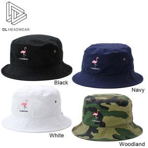 DL HEADWEAR Flamma Bucket Hat DL005001 ディーエルヘッドウェア バケットハット 帽子 FLAMINGOL フラミンゴール 18s|stormy-japan