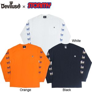 DEVILUSE x STORMY Pocket LS Tee 2019 Halloween Lim...