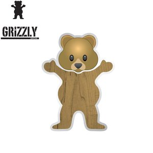 GRIZZLY TOREY PUDWILL BEAR STICKER(グリズリー ステッカー)17s|stormy-japan