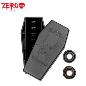 ZERO BLACK WIDOW SKATEBOARD BEARING(ABEC7)(8 PACK)(ゼロ スケートボード ベアリング 1セット/8個入り)/|stormy-japan