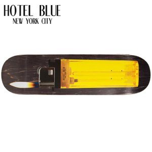 HOTEL BLUE LIGHTER SKATEBOARD DECK 8.0inch 8.25inch ホテルブルー スケートボード スケボー デッキ 19m|stormy-japan