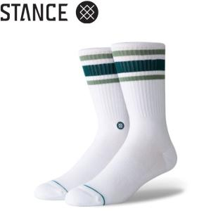 STANCE BOYD 4 SOCKS L 25.5-29.0cm GREEN スタンス ソックス 靴下 メンズ ボイド 4 グリーン 19f|stormy-japan