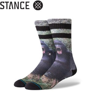 STANCE GORILLA SOCKS L 25.5-29.0cm スタンス ソックス 靴下 メンズ ゴリラ 19f|stormy-japan