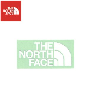THE NORTH FACE CUTTING STICKER WWHITE ノースフェイス カッティングステッカー ホワイト 19s|stormy-japan