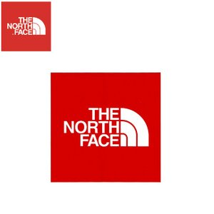 THE NORTH FACE STICKER R RED ノースフェイス ステッカー レッド 18f|stormy-japan