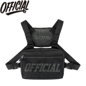 OFFICIAL MELROSE CHEST UTILITY BAG BLACK オフィシャル チェスト ユーティリティ バッグ ブラック 19s|stormy-japan